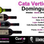 Cata Vertical de Domínguez en Cuvée Enoteca