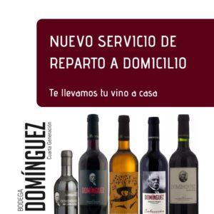 Nuevo Servicio: Reparto a Domicilio – Te llevamos el Domínguez a casa